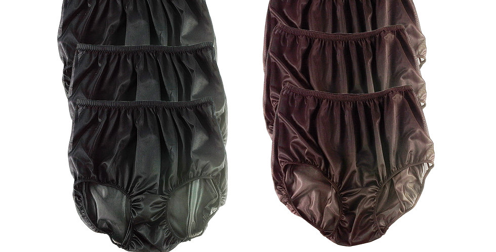 NSD01Lots 6 pcs Wholesale Women New Panties Granny Briefs Nylon Lingerie