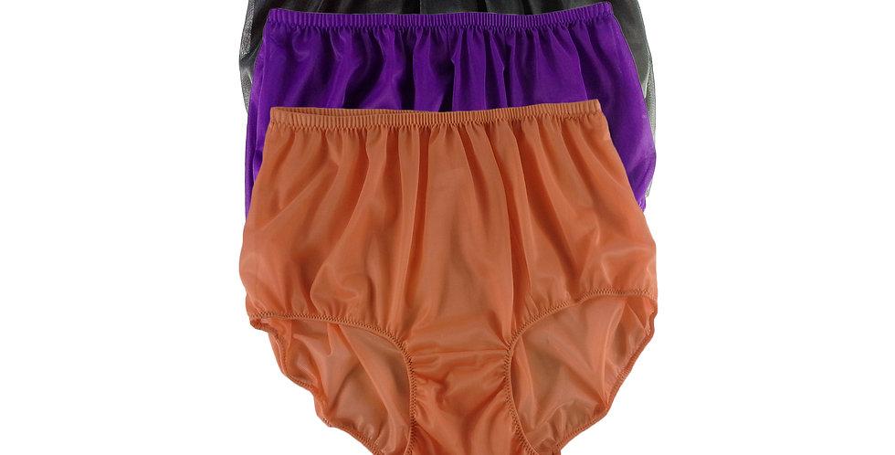A101 Lots 3 pcs Wholesale Women New Panties Granny Briefs Nylon Knickers