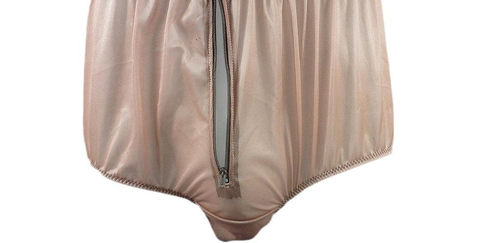 NNH03P04 fair brown Handmade Panties Lace Women Men Briefs Nylon Knickers