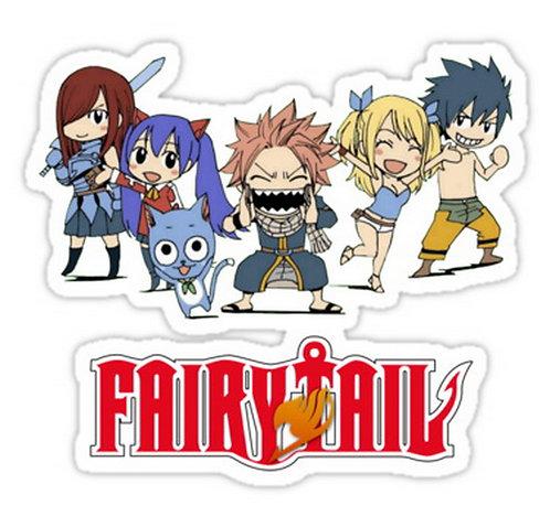 SRBB0580  Fairy Tail Chibi anime sticker