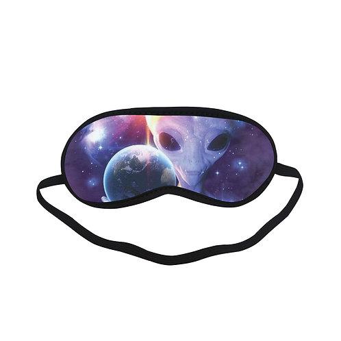 ATEM162 alien art Eye Printed Sleeping Mask