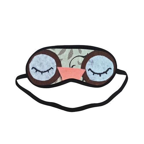 BTEM287 Cute Owl Eye Printed Sleeping Mask
