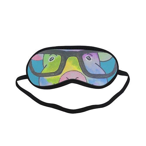 BTEM136 Hip Hop Pig Eye Printed Sleeping Mask