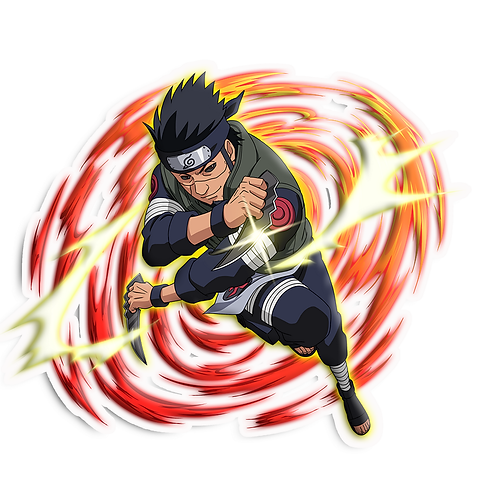 NRT09 Asuma Sarutobi Twelve Guardian Ninja Naruto anime stick