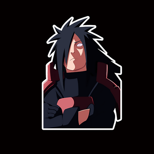 NOR350 Madara uchiha Naruto Peeking anime sticker Car Decal Vinyl Window