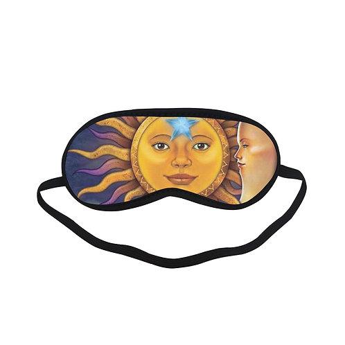 ATEM409 sun moon Eye Printed Sleeping Mask