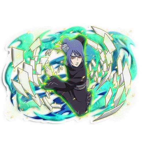 NRT238 Konan Akatsuki Amegakure Naruto anime s