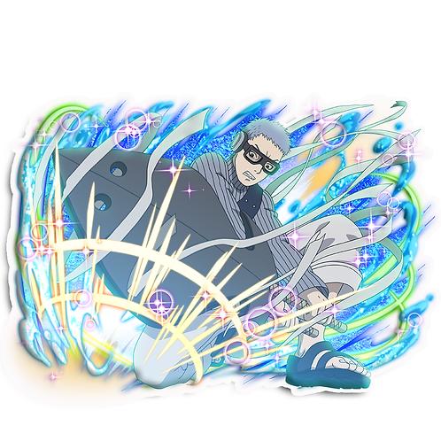 NRT22 Chojuro Fourth Mizukage Naruto anime stick