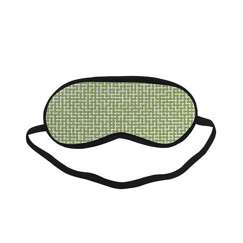 PTEM411 green Geometric Eye Printed Sleeping Mas