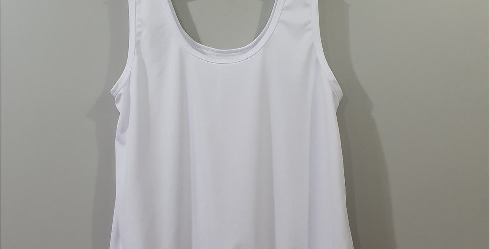 New White Camis Pinup Inner shirt Blouse Camisole Tank Top Women Men NSBL01