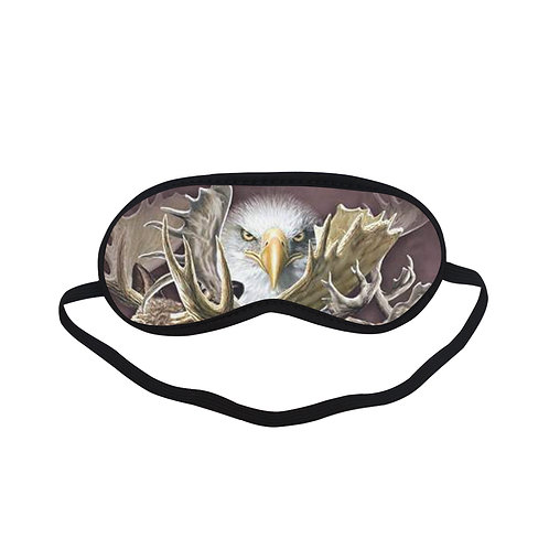 ATEM324A northern wildlife collage ENGLE  Eye Printed Sleeping Mask