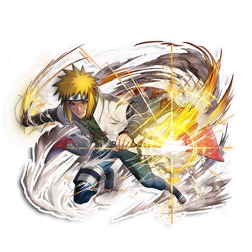NRT268 Minato Namikaze Yondaime Hokage Naruto anime s