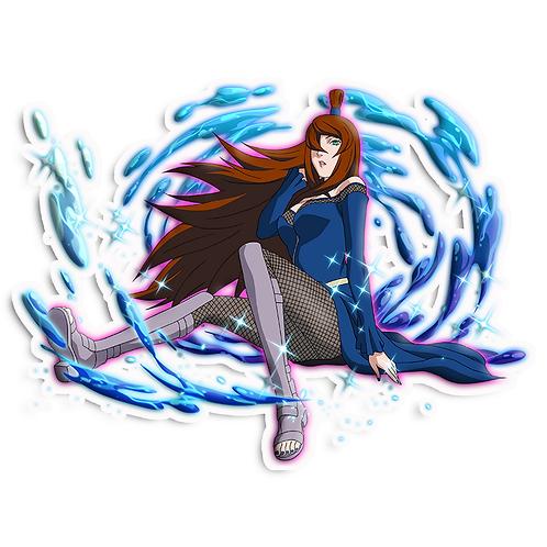 NRT249 Mei Terumi Fifth Mizukage Naruto anime s