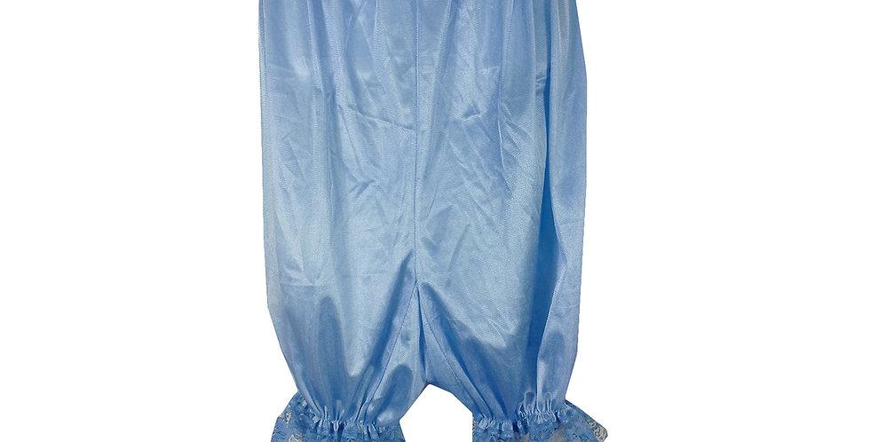 PTPH01D10 Blue New Nylon Pettipants Women Men Slips Lace Lingerie