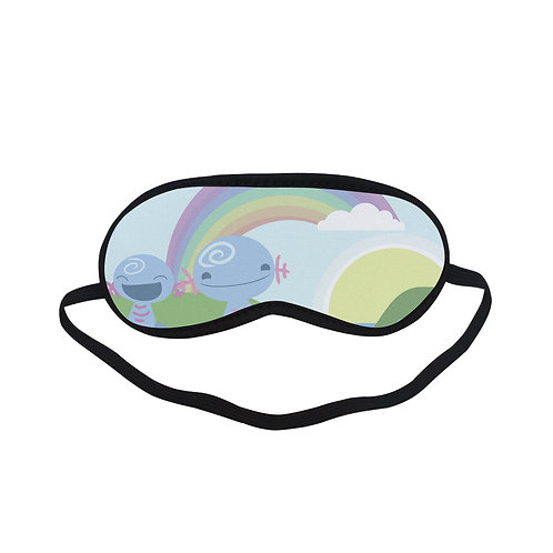 PTEM375 cute cartoon Eye Printed Sleeping Mask