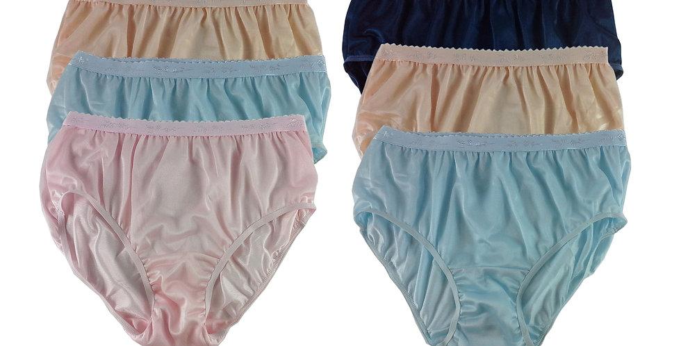 CKSL52 Lots 6 pcs Wholesale New Nylon Panties Women Undies Briefs