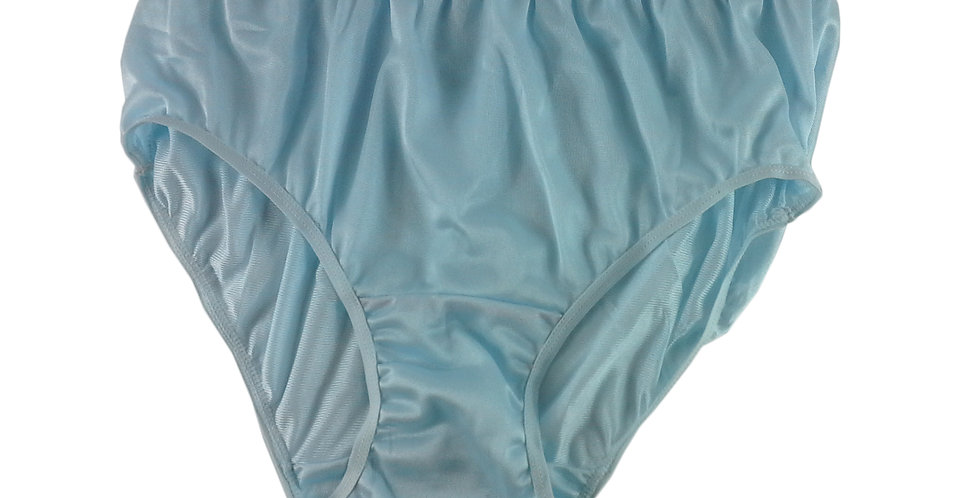 CK02 Blue Silky New Nylon Panties Women Knickers Briefs Underwear