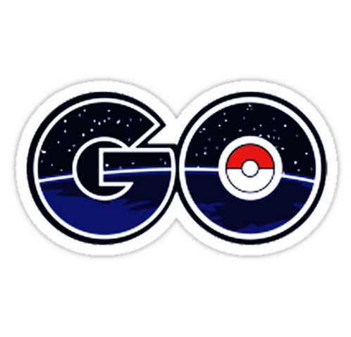 pokemon go logo SPKMR024 Cartoon Anime Car Window Decal Sticker