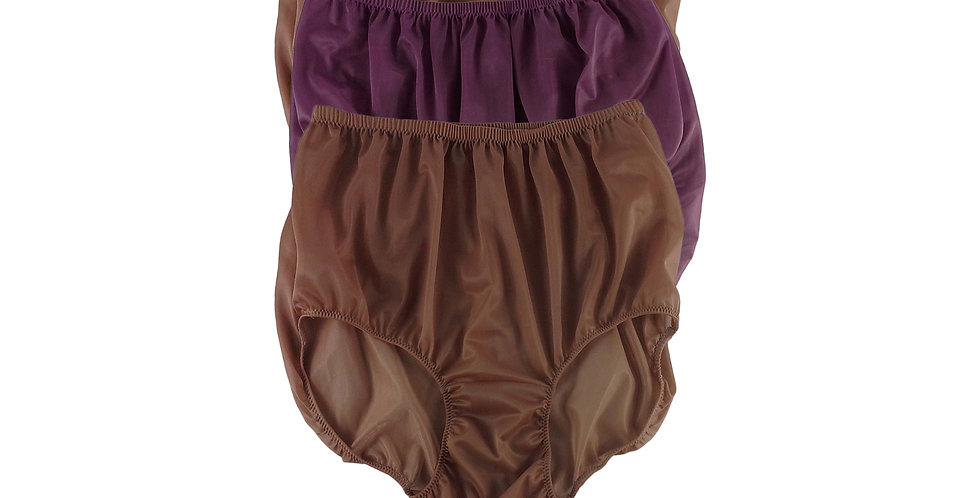 A150 Lots 3 pcs Wholesale Women New Panties Granny Briefs Nylon Knickers
