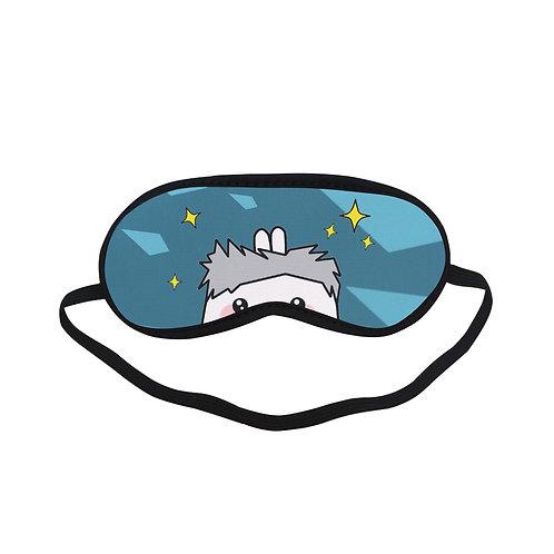 PTEM296 Cartoon Wink Eye Printed Sleeping Mask
