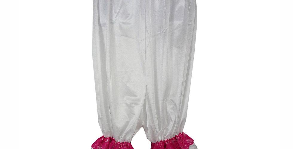 PTPH04D15 white New Nylon Pettipants Women Men Slips Lace Lingerie