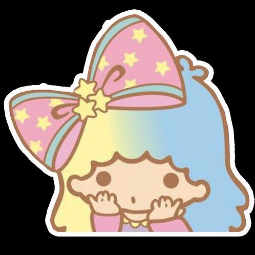 Peeker Anime Peeking Sticker Car Window Decal PK455 Lala little twin stars
