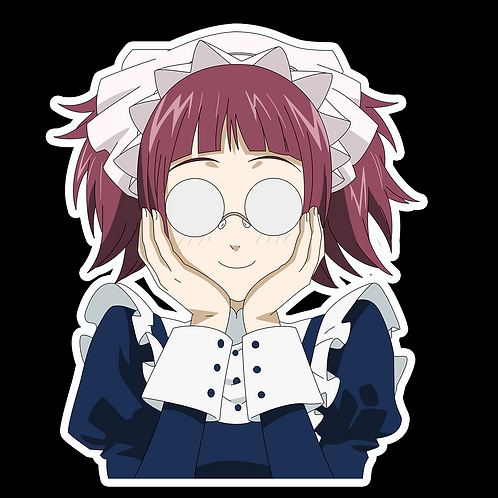 Anime Stickers Die-cut Car motorcycle laptops phone Truck wall BB4 Black Butler