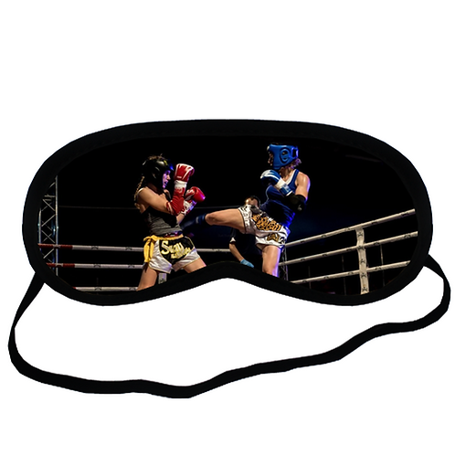 EYM1934 Muay Thai Eye Printed Sleeping Mask