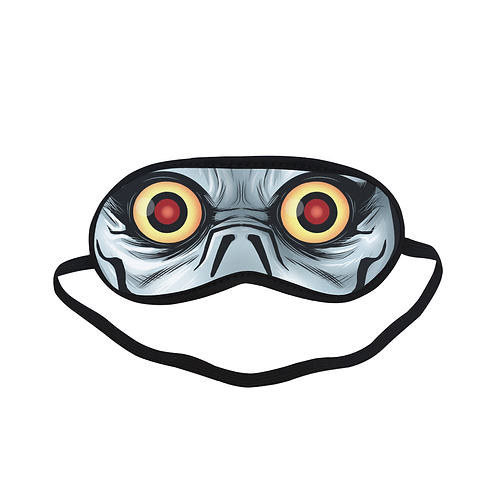 SPM458 Ryku death note Eye Printed Sleeping Mask