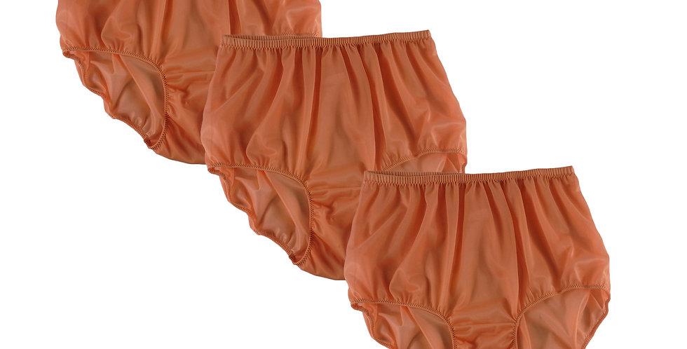 BB13 Orange Lots 3 pcs Wholesale Women New Panties Granny Briefs Nylon