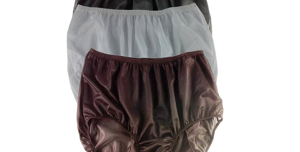 A20 Lots 3 pcs Wholesale Women New Panties Granny Briefs Nylon Knickers