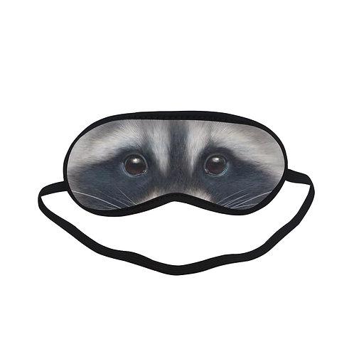 ATEM362 Raccoon Animal Eye Printed Sleeping Mask