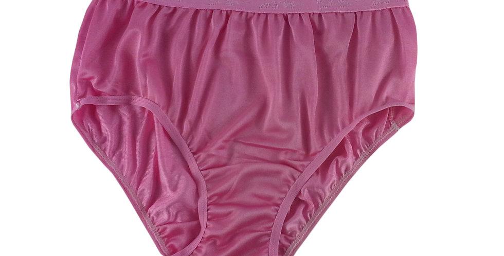 CK03 Light Pink Silky New Nylon Panties Women Knickers Briefs Underwear