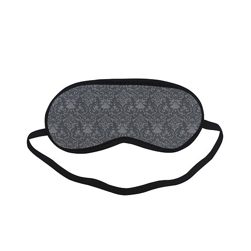 PTEM011 Classic Baroque Black & White  Eye Printed Sleeping Mask