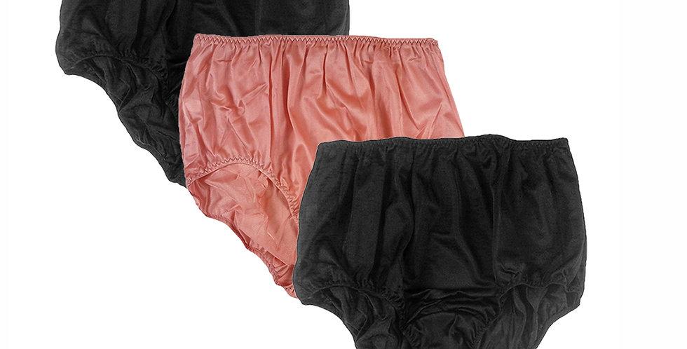 BBW13 Lots 3 pcs Wholesale New Nylon Granny Panties Women Knickers
