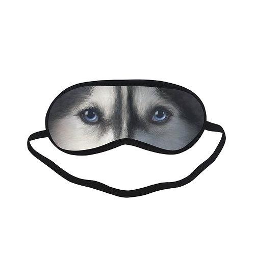 ATEM184 dog siberian Eye Printed Sleeping Mask