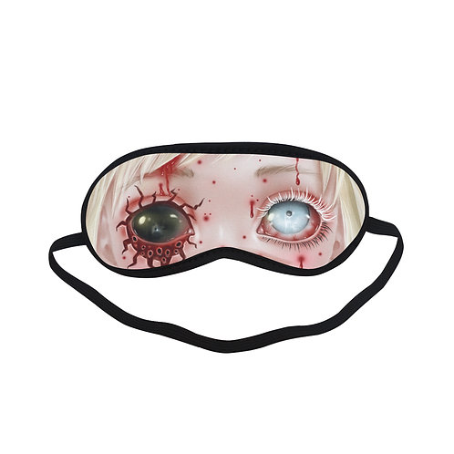 SPM425 Zombie Doll Eye Printed Sleeping Mask