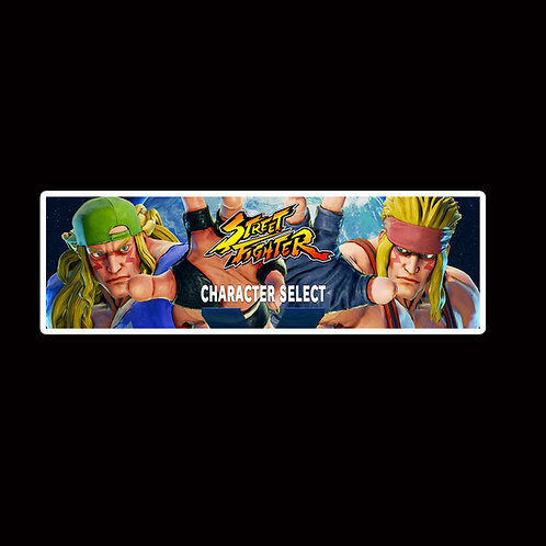 Slap Stickers Anime Stickers Decals Helmet laptops SLSF31 Street Fighter Game