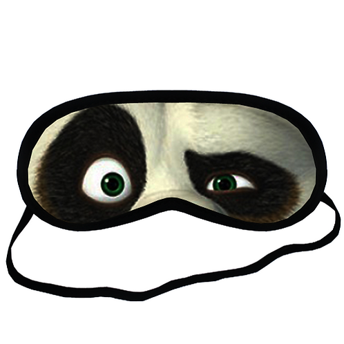EYM396 Kungfu Kung Fu Panda Eye Printed Sleeping Mask
