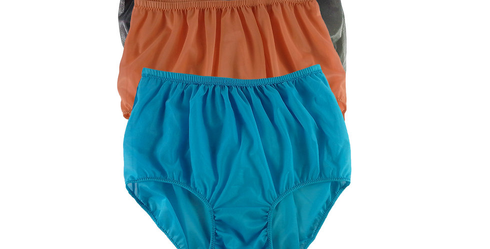 A77 Lots 3 pcs Wholesale Women New Panties Granny Briefs Nylon Knickers