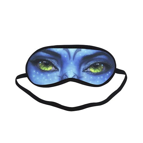 SPM097 Avatar Movie Eye Printed Sleeping Mask