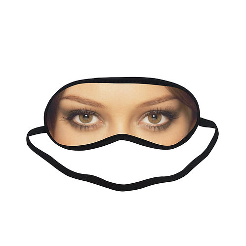 JTEM203 Hilary Duff Eye Printed Sleeping Mask