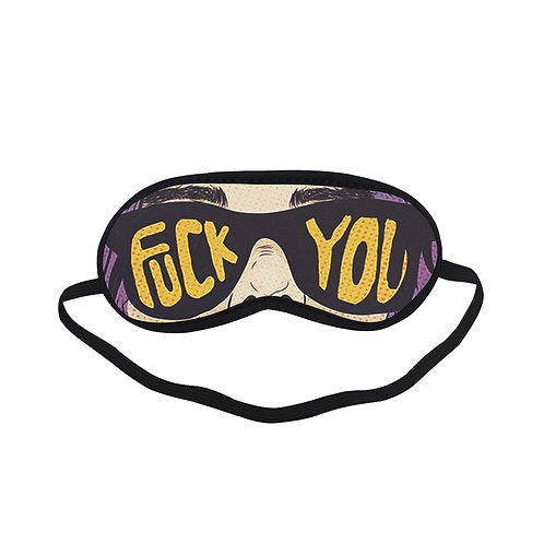 SPM010 Fun Glasses Eye Printed Sleeping Mask