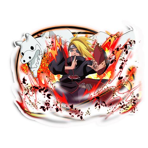 NRT41 Deidara Iwagakure Akatsuki Naruto anime stick