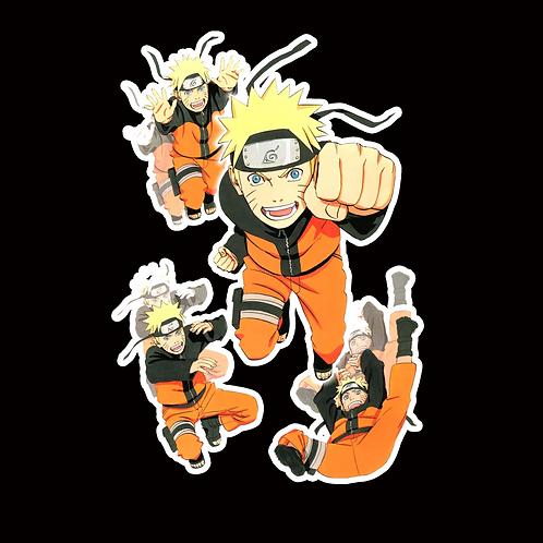 NOR97 Naruto uzumaki Naruto Peeking anime sticker Car Decal Vinyl Window
