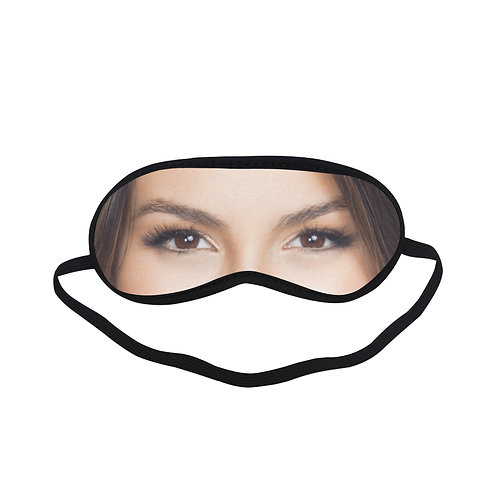 JTEM518 Victoria Justice Eye Printed Sleeping Mask