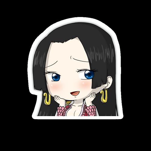 Anime Peeking Sticker Car Window TRUCK Decal PKN76 Boa Hancock One Piece