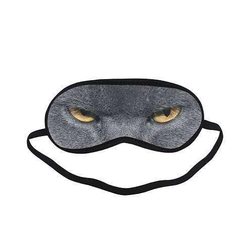 ATEM037 Angry cat Eye Printed Sleeping Mask