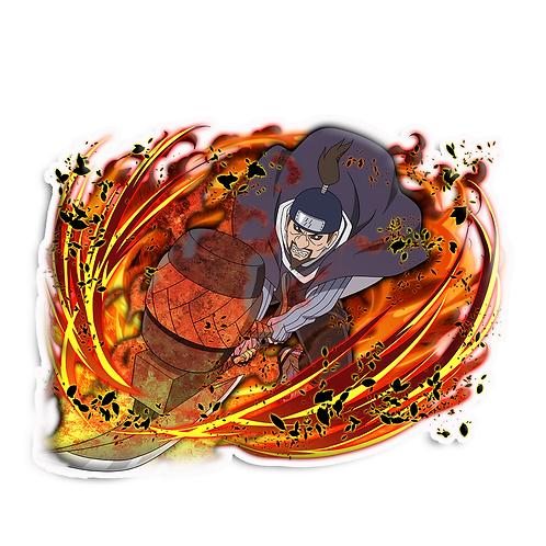 NRT161 Jinin Akebino Seven Ninja Swordsmen of the Mist Naruto anime sti