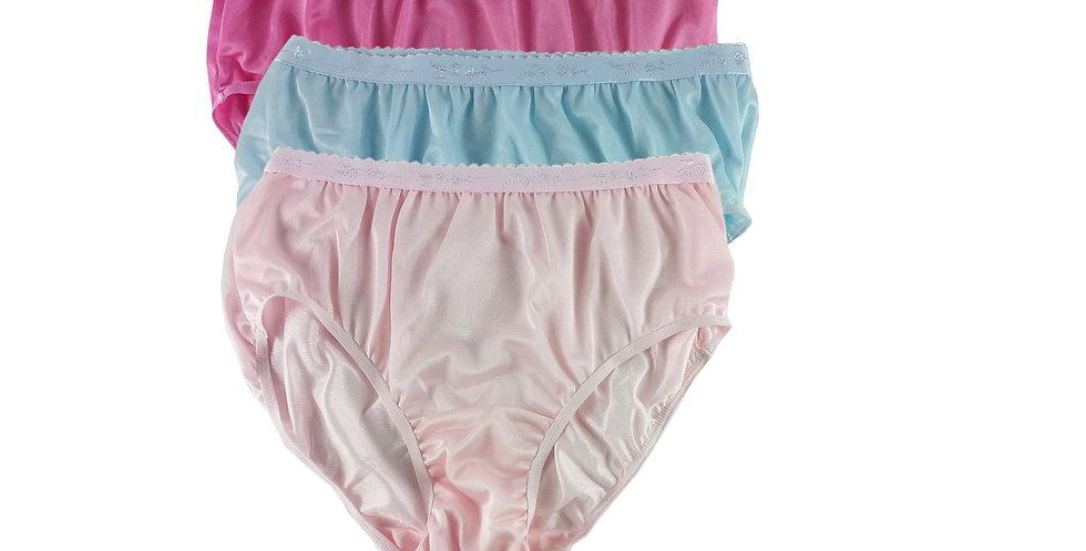CKTK18 Lots 3 pcs Wholesale New Nylon Panties Women Undies Briefs